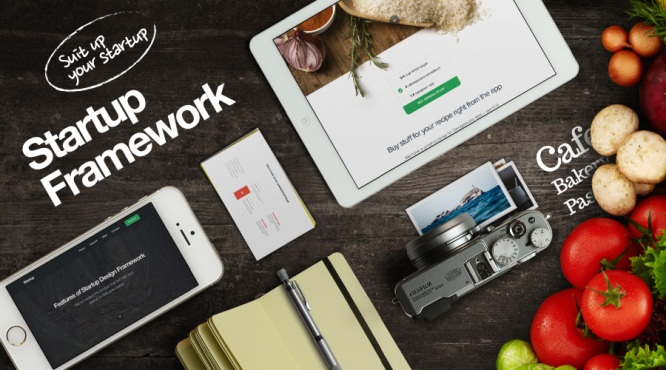 Startup Framework: An Impressive & Efficient Platform for Creating Your New Business Website