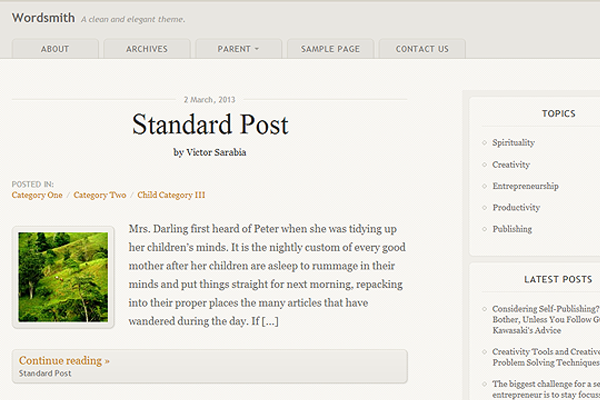 33 Brand New Open Source WordPress Themes for 2013