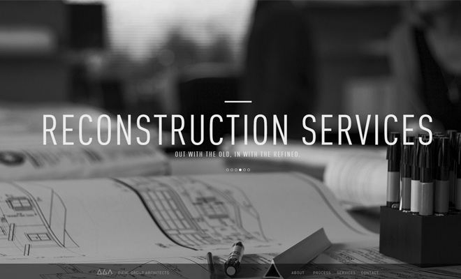 26 Inspirational Architecture Firm Website Designs