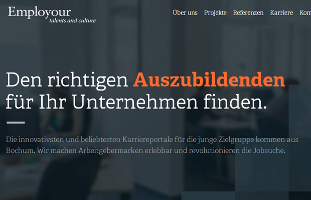 36 Beautifully Crafted Foreign Websites in German