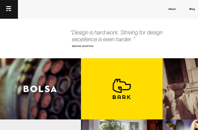 35 Examples of Flat Portfolio Website Designs