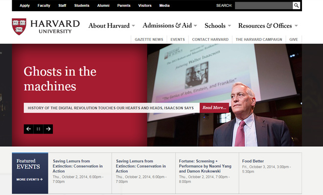 01-harvard-univeristy-college-website