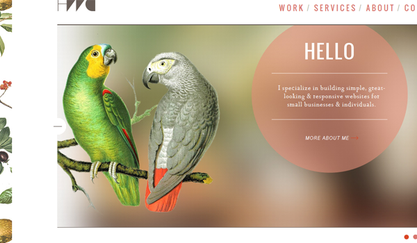 Heath Waller creative portfolio website
