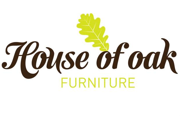 house of oak logo branding furniture leaves