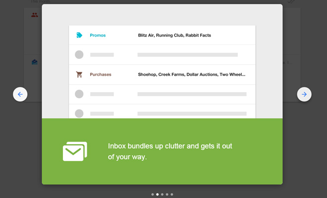 User Experience Design Concepts from Google Inbox