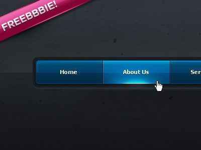 01-navigation-bar-psd-freeebieee
