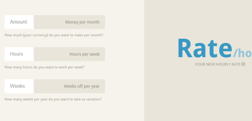 yourrate rating prices freelance webapp