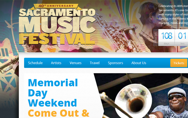 california sacramento california music festival website
