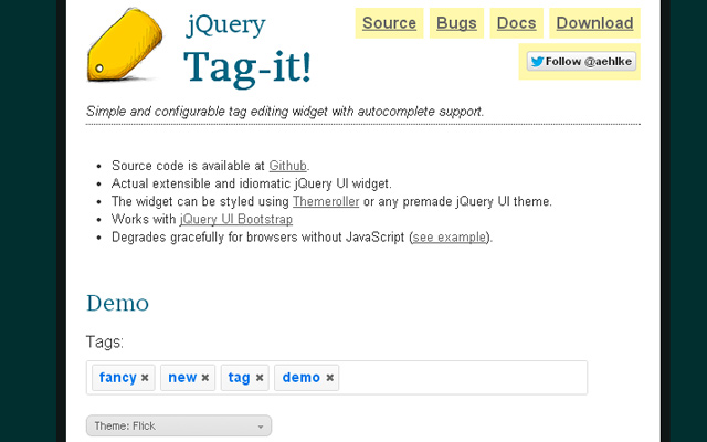 33 Open Source jQuery Plugins for Gathering User Input
