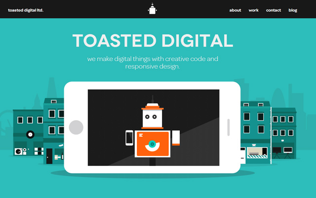 single page toasted digital layout design vectors