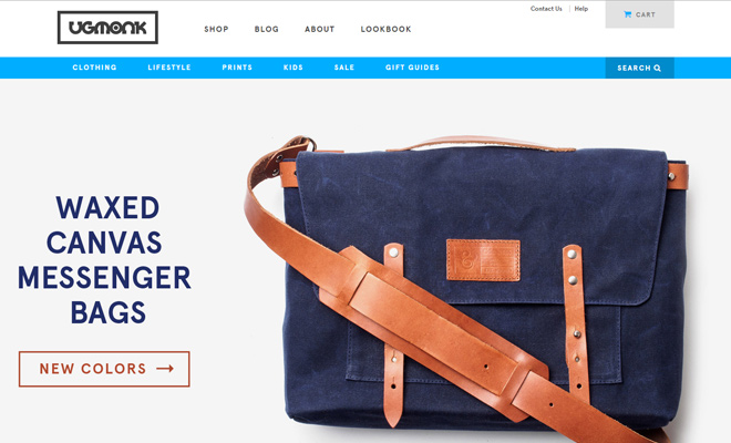 uhmonk ecommerce shopify store website