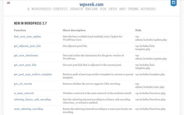 wpseek website seek homepage layout tools webapps