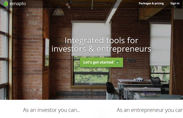 xenapto integrated tools investors entrepreneurs homepage