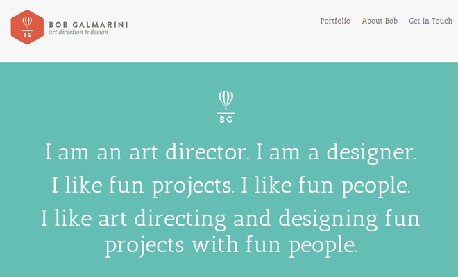 bob galmarini portfolio art director design