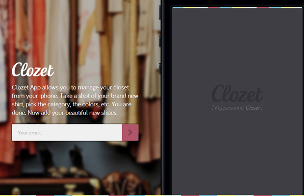 homepage ios app clozetapp launching soon
