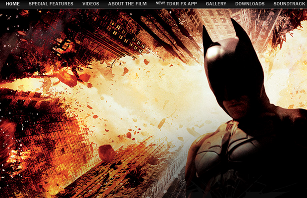 dark knight rises movie website