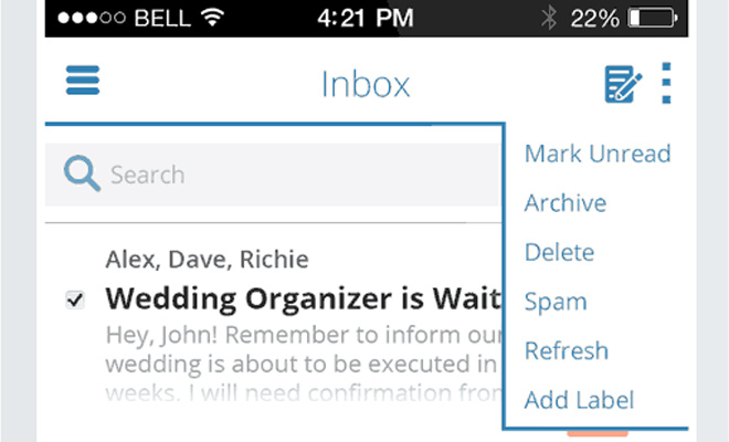 ios7 flat email application tutorial