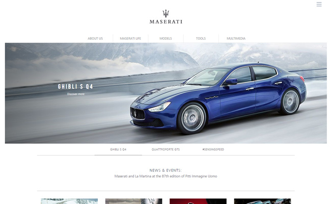 maserati car automobile car company