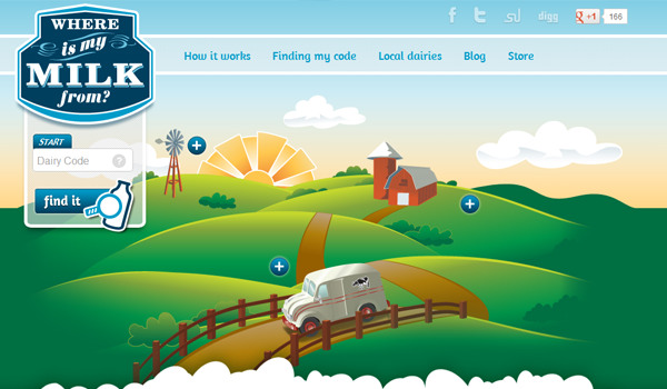 35 Impressive Web Layouts with Vector Illustrations - SpyreStudios