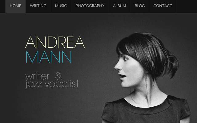 andrea mann writer jazz artist personal website