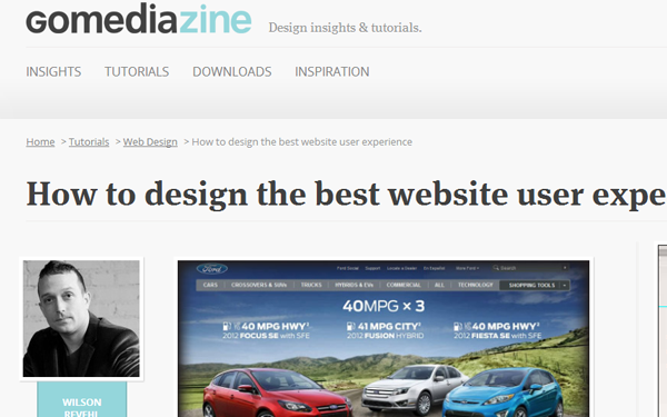 how to design the best user experience for websites