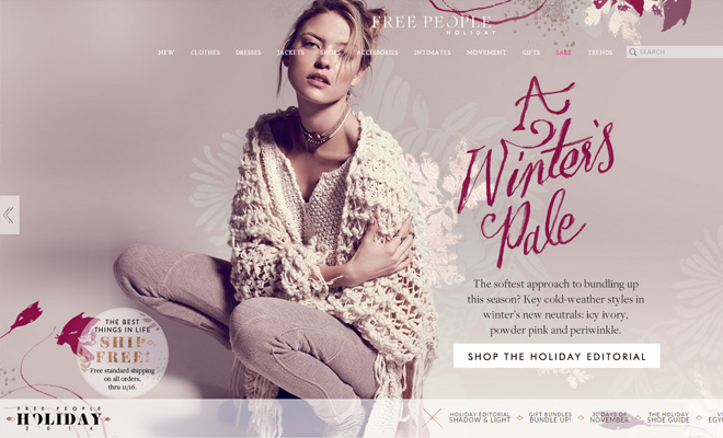 free people shopping clothing store website