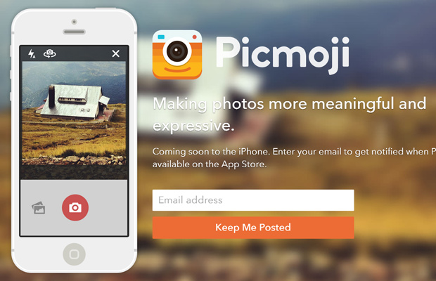 picmoji website new mobile app photos