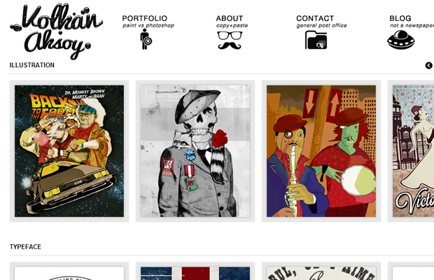 patterntap gallery portfolio website layouts