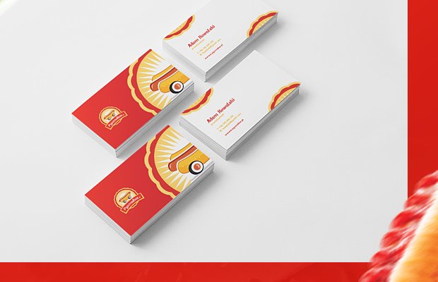 red hot dog inspiration branding logo