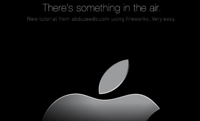 dark apple air banner tutorial fireworks