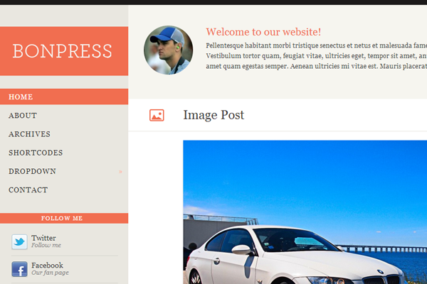 BonFire WordPress Theme Freebie download WPZoom