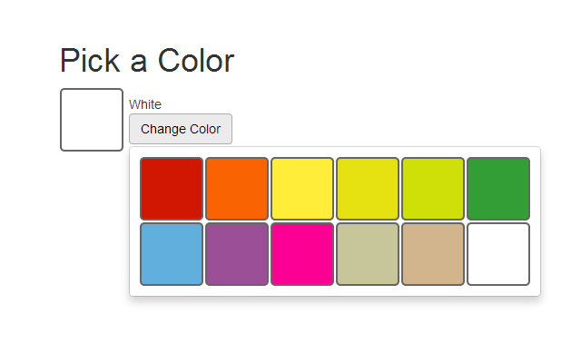 bootstrap bs3 color picker interface open source