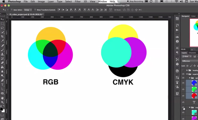 youtube video color theory using photoshop