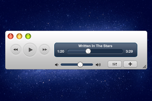 media player psd freebie release