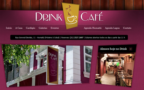 drink cafe restaurant layout interface