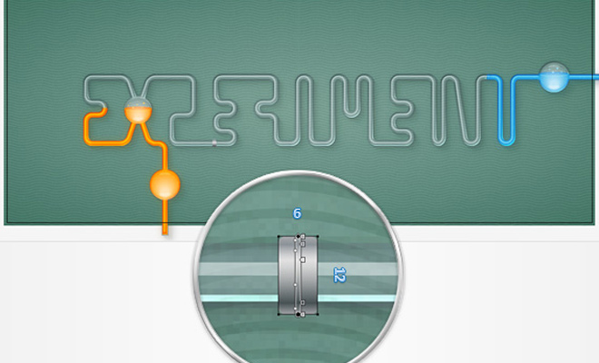chemistry tubes text effect tutorial