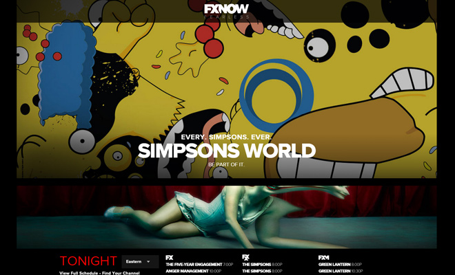 fx fxx network channel website
