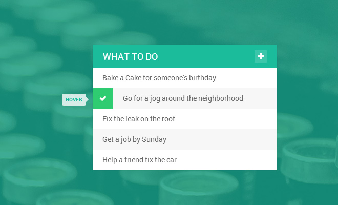 flat todo list ui design freebie