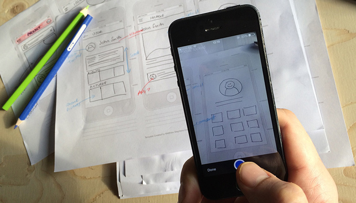 marvel app mobile prototyping tool