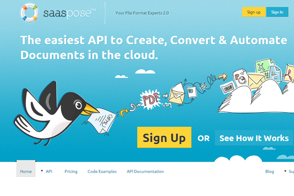 SaasPose documents in the cloud