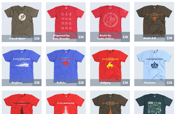 united pixel workers collection products tshirts