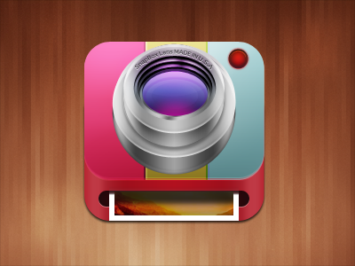 iPhone Camera printer icon design