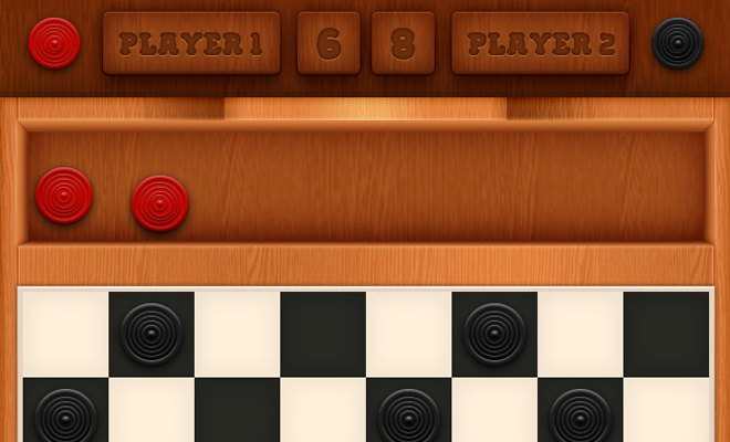 mobile checkers game interface tutorial