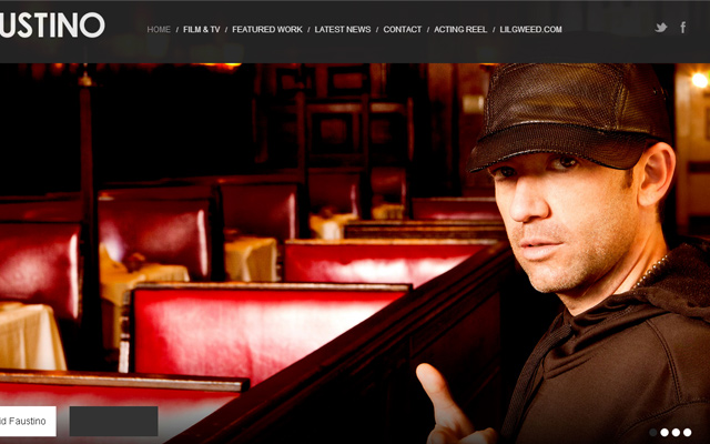 david faustino actor musician personal website