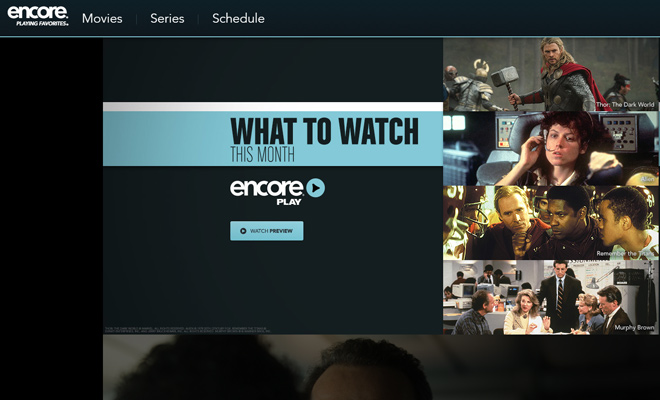 encore cinema movies cable website