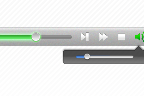 media player ui interface designs