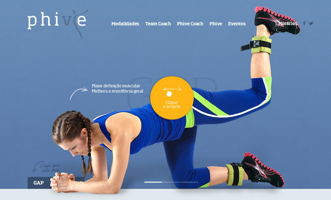 phive health and fitness center website