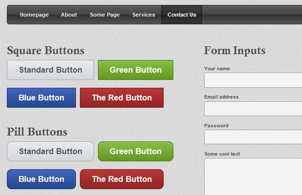 solid user interface kit css3 open source