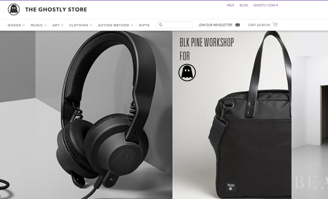the ghostly store ecommerce shopify