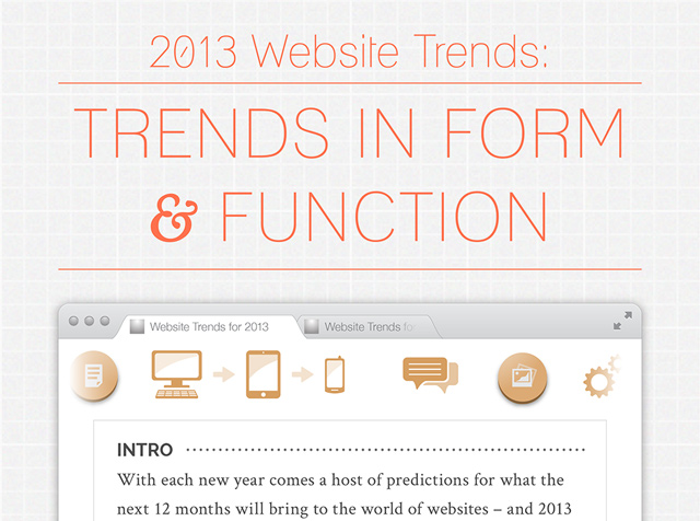2013 infographic trends in form design